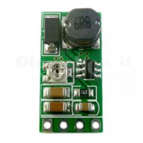 Micro DC-DC boost regolabile con uscita 3-15V