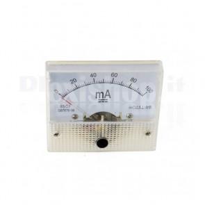 Milliamperometro analogico da pannello