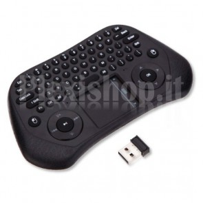 Mini Tastiera con Touchpad GP800 Air Mouse Wireless 2.4GHz