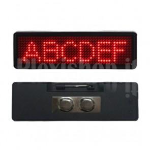 Mini Display LED USB Indossabile 93x30 mm