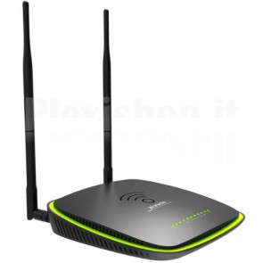 Modem Router Wireless DualBand 1200Mbps con USB ADSL2+ Gigabit D1201