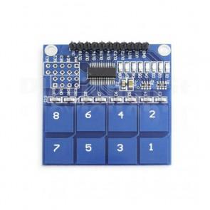 Modulo con Sensore Touch Capacitivo TTP226