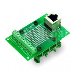 Modulo DIN Connettore RJ50