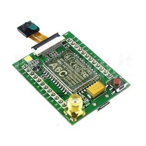 Modulo GPRS GSM A6C con antenna e camera