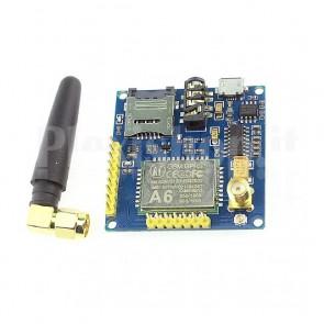 Modulo GPRS GSM Mini A6 PRO con antenna SMA