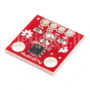 Modulo HTU21D sensore di temperatura e umidità