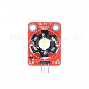 Modulo LED da 3W Bianco per Arduino