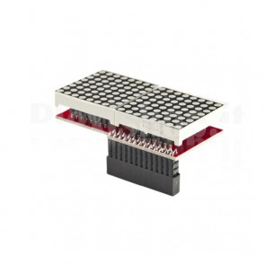 Modulo matrice LED 16x8 per Raspberry Pi