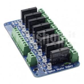 Modulo Relay SSR a 8 canali - 2A