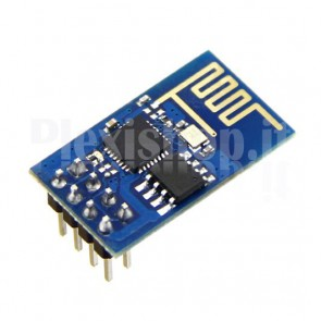 Modulo ricetrasmettitore WiFi seriale, basato sul chip ESP8266