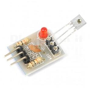 Modulo ricevitore laser per luce non modulata