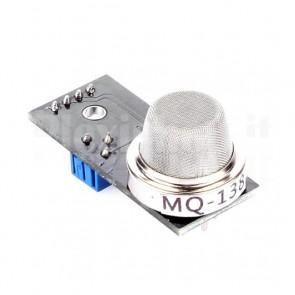Modulo sensore gas MQ-138 per la rilevazione di formaldeide, per Arduino, Raspberry Pi e MCU