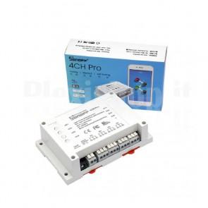 Modulo Sonoff 4CH PRO Wi-Fi DIN, 10A