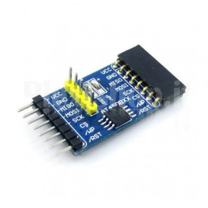 Modulo Waveshare AT46DB041 per il collegamento di memorie flash a schede di sviluppo