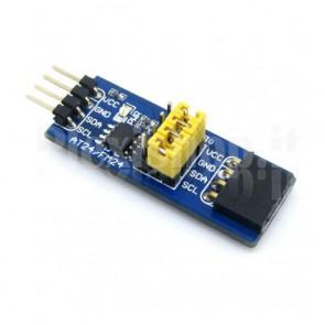 Modulo Waveshare FRAM FM24CXX per gestione memorie
