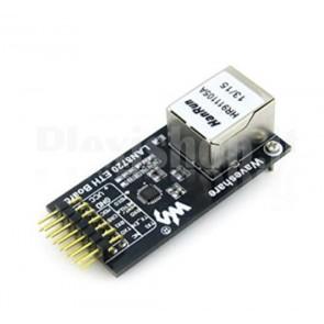 Modulo Waveshare LAN8720 costituito da una scheda di rete ethernet 10/100