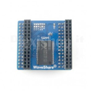 Modulo di memoria Waveshare SRAM IS62WV51216BLL (8Mbit)