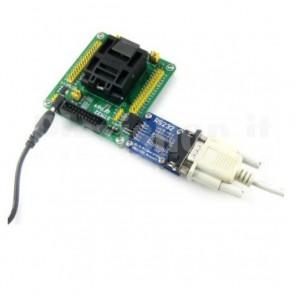 Modulo per testing Waveshare STM32-QFP64