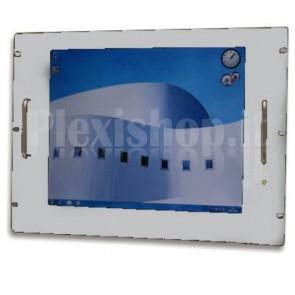 Monitor LCD 17'' per Rack 19'' 8 Unità Grigio