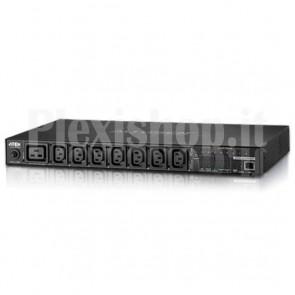 Multipresa Rack PDU 7xC13+C19 Misurazione PDU, Controllo Presa PE8208