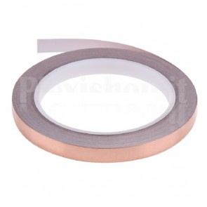Nastro adesivo in rame largo 5mm, 20m