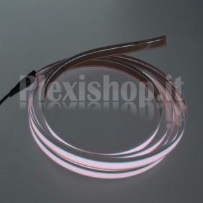 Nastro elettroluminescente BIANCO H10 mm - 2m