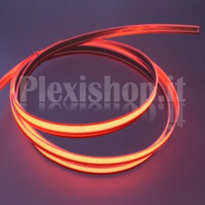 Nastro elettroluminescente ROSSO H10 mm - 5m