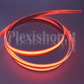 Nastro elettroluminescente ROSSO H10 mm - 10m