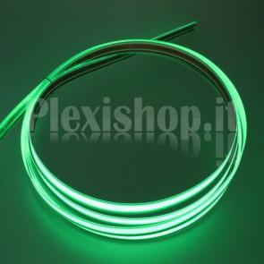 Nastro elettroluminescente VERDE H10 mm - 5m