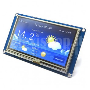 Display touchscreen intelligente LCD Nextion NX4827T043 da 4.3""
