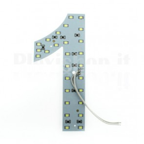 Numero luminoso a Led - 1