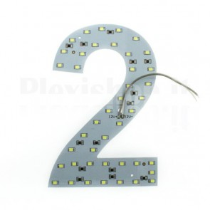 Numero luminoso a Led - 2