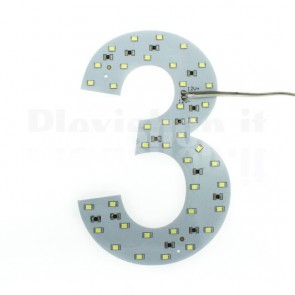 Numero luminoso a Led - 3