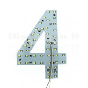 Numero luminoso a Led - 4