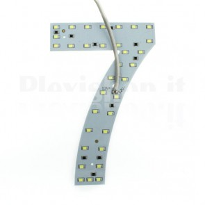 Numero luminoso a Led - 7