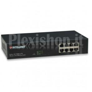 Switch Desktop Fast Ethernet PoE 8 Porte Soho