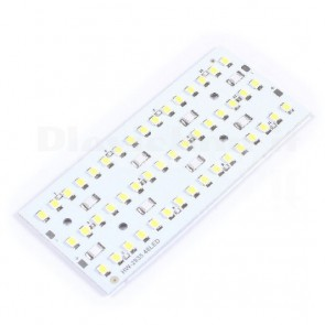 Pannello luminoso a 48 LED SMD bianchi ad alta luminosità, 12Vdc