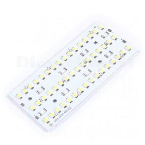 Pannello luminoso a 48 LED SMD bianchi ad alta luminosità, 12Vdc