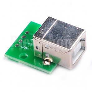 PCB adattatore da USB B femmina a SIP