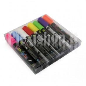 Pennarelli Neon Window Marker - 5 mm
