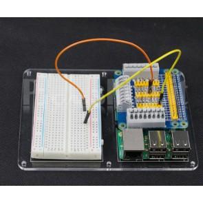 Piastra per Breadboard e Raspberry Pi 3 B, Pi 2 B e Pi B+