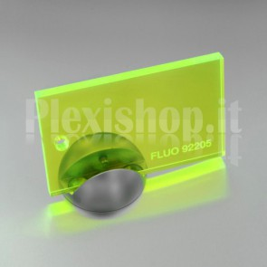 Plexiglass 92205 Giallo Fluorescente