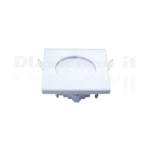 Pannello Faretto Led Quadrato 100 x 100 mm 6W Bianco - Bianco Caldo