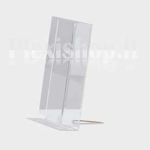 Portadepliant con Fisso Desk A6 (105 × 148 mm)