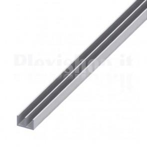 Profilo Alluminio a Doppia U 16x12x1 mm