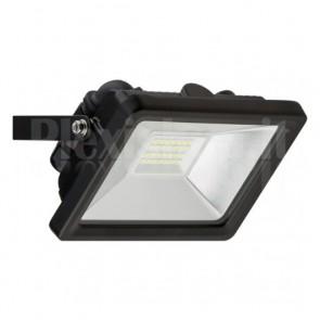Proiettore LED Nero da Esterno 20W 1650 lm
