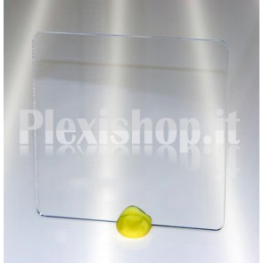 Quadrato plexiglass trasparente 150x150 mm