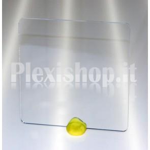 Quadrato plexiglass trasparente 200x200 mm