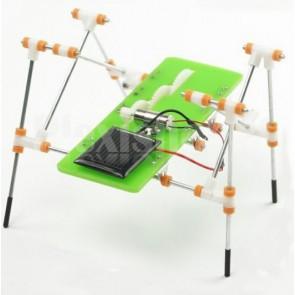Quadrupede robot a energia solare