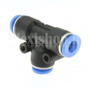 Raccordo ad innesto rapido tubo/tubo a T diametro 8mm